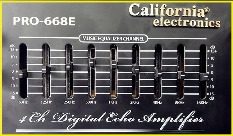 ampli california 668e