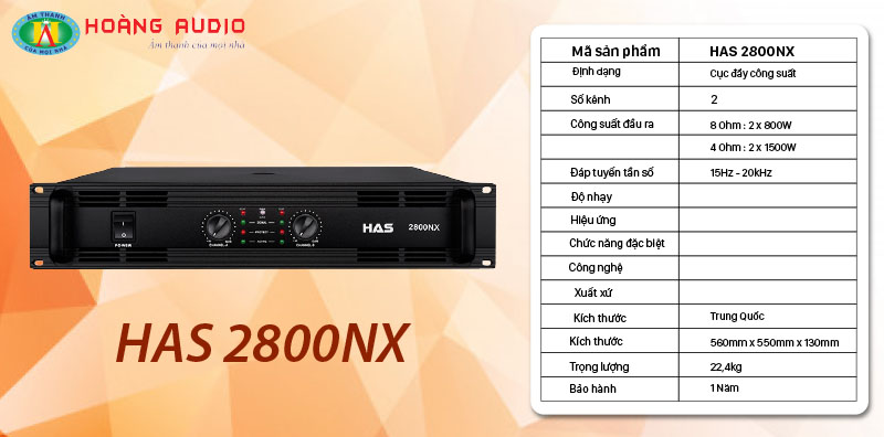 HAS 2800NX
