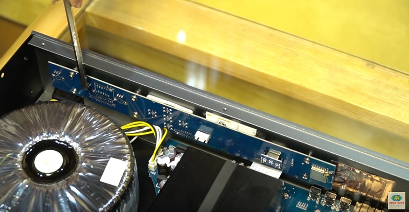 mạch căn chỉnh của has mc-2300s