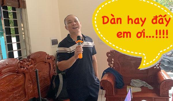 Bộ dàn karaoke HAS chính hãng giá rẻ gia đình anh Khánh - Phú Xuyên - HN