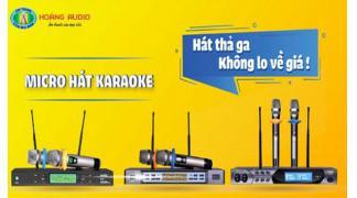 Cách để chọn micro hát karaoke hay