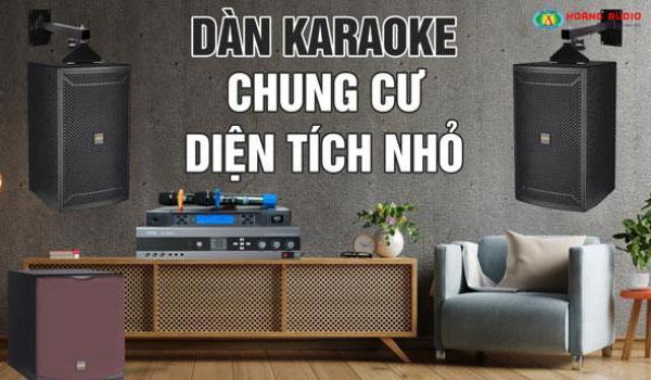 Dàn karaoke cho chung cư có diện tích nhỏ