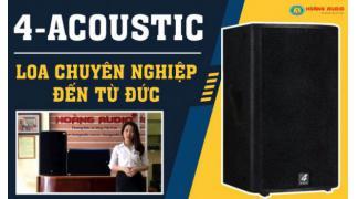 Dòng loa karaoke chuyên nghiệp tốt nhất đến từ Đức 4-Acoustic