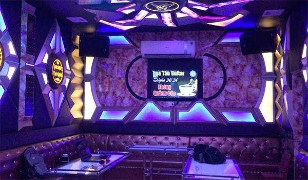 Lắp bộ dàn kinh doanh cho Karaoke Vịnh Quyên - Bắc Kạn