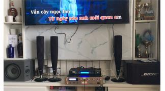 Nâng cấp bộ dàn karaoke Bose cho gia đình Chị Hương Vinhome Greenbay