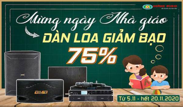 Sale up to 75% chào mừng ngày Nhà Giáo