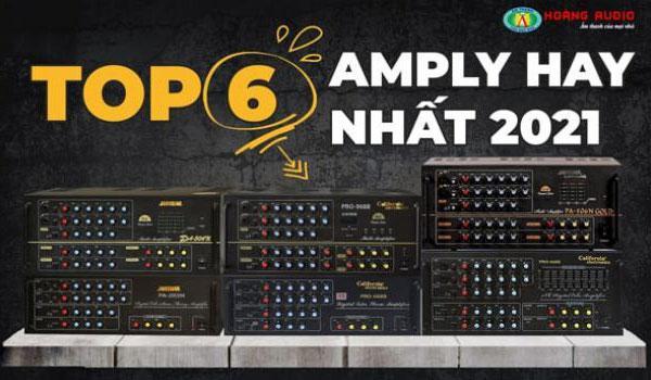 Top 6 dòng Amply Karaoke hay nhất hiện nay 2021
