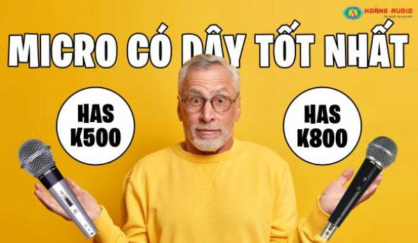 Tư vấn chọn mua Micro Karaoke có dây hay nhất cho gia đình