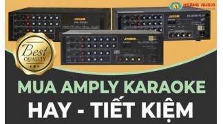 Tư vấn chọn amply karaoke cho không gian gia đình