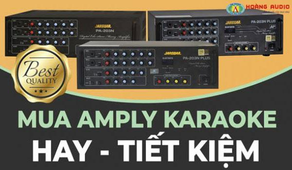 Tư vấn mua amply karaoke gia đình chuẩn hay - giá rẻ tiết kiệm nhất