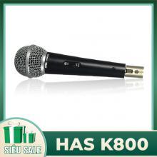 Micro karaoke có dây HAS K800