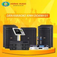 Bộ dàn karaoke kinh doanh 01