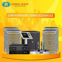 Bộ dàn karaoke kinh doanh 03