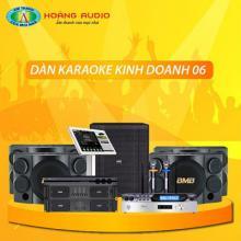 Bộ dàn karaoke kinh doanh 06