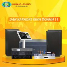 Bộ dàn karaoke kinh doanh 11