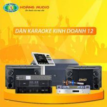 Bộ dàn karaoke kinh doanh 12