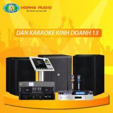 Bộ dàn karaoke kinh doanh 13