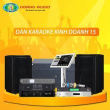 Bộ dàn karaoke kinh doanh 15
