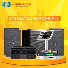 Bộ dàn karaoke kinh doanh 16