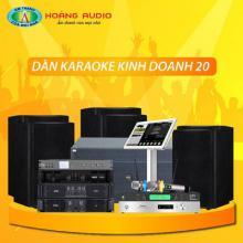 Bộ dàn karaoke kinh doanh 20