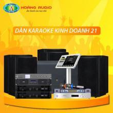 Bộ dàn karaoke kinh doanh 21