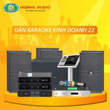Bộ dàn karaoke kinh doanh 22