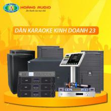 Bộ dàn karaoke kinh doanh 23