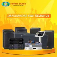 Bộ dàn karaoke kinh doanh 24