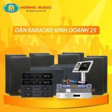 Bộ dàn karaoke kinh doanh 25