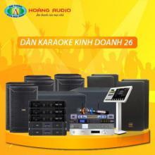 Bộ dàn karaoke kinh doanh 26