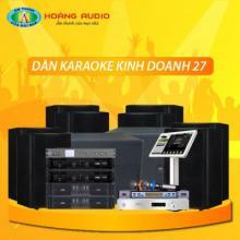 Bộ dàn karaoke kinh doanh 27