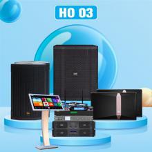 Dàn karaoke cao cấp HO 03