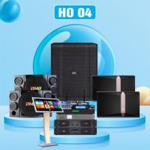 Dàn karaoke cao cấp HO 04