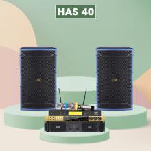 Dàn karaoke HAS 40